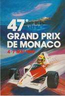 C.P. - 47° GRAND PRIX DE MONACO - 1989 - MARLBORO - SHELL - A. I. P. - Grand Prix / F1