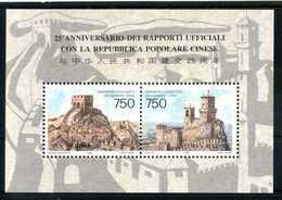 1996 SAN MARINO BF42 MNH ** - Blocchi & Foglietti