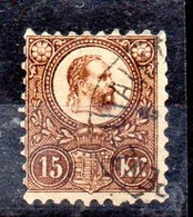 Sello De Hungría N ºYvert 5a (o) Valor Catálogo 135.0€ - Usado