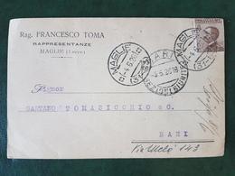 (37452) STORIA POSTALE ITALIA 1926 - 1900-44 Victor Emmanuel III