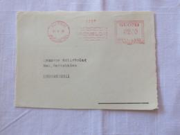 Finland 1946 Front Of Cover Helsinki To Kuusankoski - Machine Franking - Covers & Documents