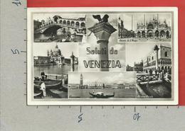 CARTOLINA VG ITALIA - Saluti Da VENEZIA - Vedutine Multivue - 9 X 14 - Saluti Da.../ Gruss Aus...