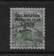 Sello De Suiza Nº Yvert S-271 O - Servizio