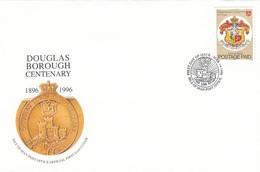 GOOD ISLE Of MAN FDC 1996 - Douglas Borough - Isle Of Man