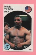 Figurina Panini 1988 Supersport - N°60 - Mike Tyson - Trading Cards