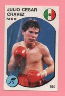 Figurina Panini 1988 Supersport - N°164 E N°63 - Julio Cesar Chavez-Pedro Pablo Pasculli - Trading Cards