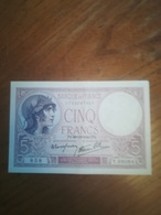 Billet 5 Francs Violet PD 26/12/1940 Neuf - 1871-1952 Antiguos Francos Circulantes En El XX Siglo