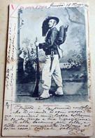BERSAGLIERE  UNIFORME FINE 1800 CON CARABINA - Uniformi