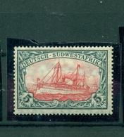 Deutsch-Südwestafrika DSWA,  Schiffszeichnung, Nr.32 Ab Falz * - Kolonie: Deutsch-Südwestafrika