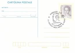 GOOD ITALY Postal Stationery 2002 - Womans / Panciatichi - Italy