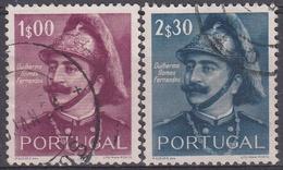 PORTUGAL 1953 Nº 791/792 USADO - Usado