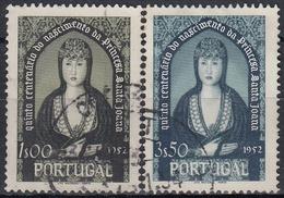 PORTUGAL 1953 Nº 795/796 USADO - Usado