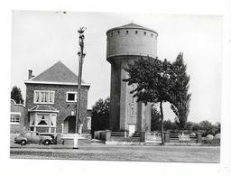 Eghezée  ( M 3535 )  Château D'Eau  Et   Vieille Automobile (carte Bromure) - Eghezée