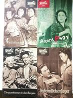 4 CHINESE MOVIES 1960 East German Film Programs - Films & TV