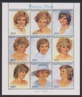 Mali 1997 - Lady Diana Souvenir Sheet Mnh - Malí (1959-...)