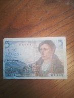 Billet 5 Francs Berger O 5/4/1945 - 1871-1952 Circulated During XXth