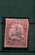 Marshall-Inseln Schiffszeichnung Nr. 21 Gestempelt - Colonia: Isole Marshall