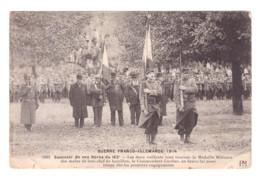 CARTE PHOTO SOUVENIR DE NOS HEROS 1922 - France