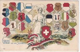 Suisse - Gruss Aus Der Schweiz - SZ Schwyz
