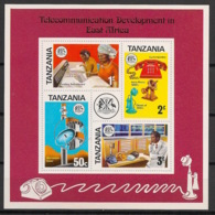 Tanzania - 1976 - N°Mi. Bloc 1 - Telecoms - Neuf Luxe ** / MNH / Postfrisch - Tanzania (1964-...)