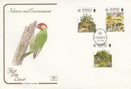 GOOD JERSEY FDC 1986 - Europa / Nature - Jersey