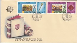 GOOD JERSEY FDC 1983 - Europa / Government & Law - Jersey