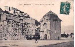 38 - Grenoble ( Isere ) - La Porte De France Et Le Fort Rabot - Grenoble