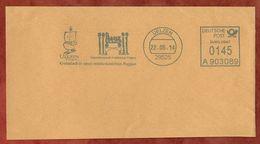 Ausschnitt, Frama A903089, Hundertwasser-Architektur Projekt, 145 C, Uelzen 2014 (73413) - Poststempel - Freistempel