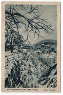1948 YUGOSLAVIA, MONTENEGRO, CASTELNUOVO DI CATTARO, HERCEG NOVI, SNOW IN THE PARK - Yugoslavia
