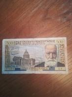 Billet 500 Francs Pasteur D 7/1/1954 - 1871-1952 Anciens Francs Circulés Au XXème