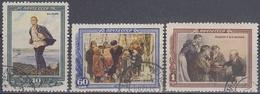 URSS / RUSIA 1952 Nº 1599/1601 USADO - 1923-1991 URSS