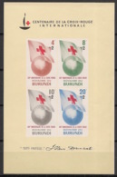 Burundi - 1963 - N°Mi. Bloc 1 - Croix Rouge - Neuf Luxe ** / MNH / Postfrisch - Burundi