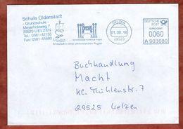 Brief, Frama A903089, Hundertwasser-Architektur Projekt, 60 C, Uelzen 2014 (73415) - Poststempel - Freistempel