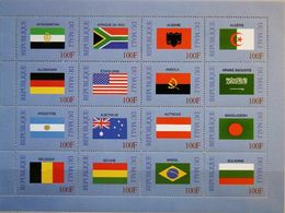 Mali 1998 - United Nations Flags Souvenir Sheetlet Mnh - Malí (1959-...)