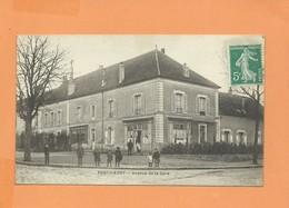 CPA - PONTHIERRY - Avenue De La Gare - Saint Fargeau Ponthierry