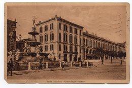 1916, WWI, AUSTRIA, ITALY, SPLIT, SPALATO-GRAND HOTEL BELLEVUE, FOUNTAIN - Austria