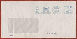 Brief, Frama A903089, Hundertwasser-Architektur Projekt, 60 C, Uelzen 2014 (73416) - Poststempel - Freistempel