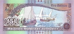 MALDIVES P. 18e 5 R  2011 UNC - Maldives