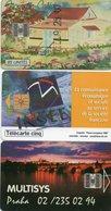 95K  Lot De 3 Télécartes Praha, TC 5U INSEE, Et Nouvelle Caledonie 25U - Telefoonkaarten