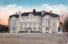 St.Gallen - Tonhalle 1916 Zensur - SG St. Gallen