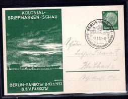 """Privatganzsache """"Kolonial-Briefmarken-Schau"""" - Ganzsachen"""