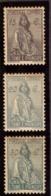 """Sao Tomé E Principe 1933-34  """" Ceres """" 15/20/30 Cts Neuf - St. Thomas & Prince"""