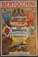 Etichetta Vino Vermouth - F. Bertocchini E C. - Livorno. - Etiquettes