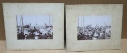 DUNKERQUE (59) Deux Anciennes Photographies Président Félix Faure De Retour De Russie 1897 - Dunkerque