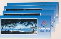 N-437: FRANCE:  Emissions Communes: FRANCE-ITALIE MONACO (1996) (stocks De 4 ) - Francia