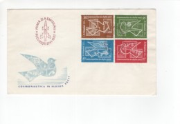 Cover1962  FDC Space Stamp Pigeon - Covers & Documents
