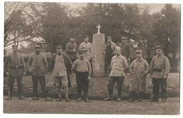 Altdamm - Prisonnier De Guerre Avec Monument Aux Morts - War, Military