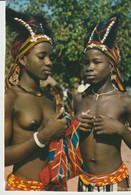 C.P. - PHOTO - AFRIQUE EN COULEURS - PETITES DANSEUSES AFRICAINES - 3023 - IRIS - HOA QUI - Cartes Postales