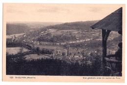 57 SAINT-QUIRIN (Moselle) Vue Générale Prise Du Rocher Du Parc - Other Municipalities