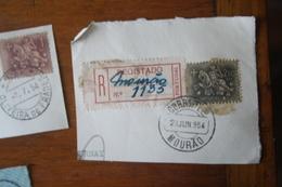 Marcofilia E Registo Mourão – 23.6.1954 – Cavalinho - Marcofilia